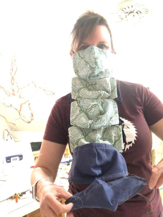 chain stitching masks
