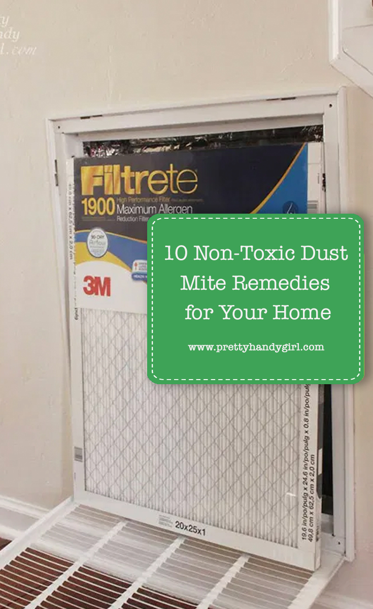 10 Non-Toxic Dust Mite Remedies for Your Home