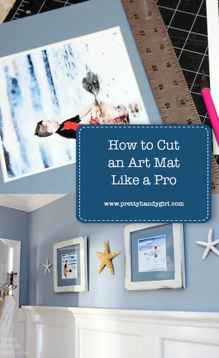 How to Cut an Art Mat Like a Pro