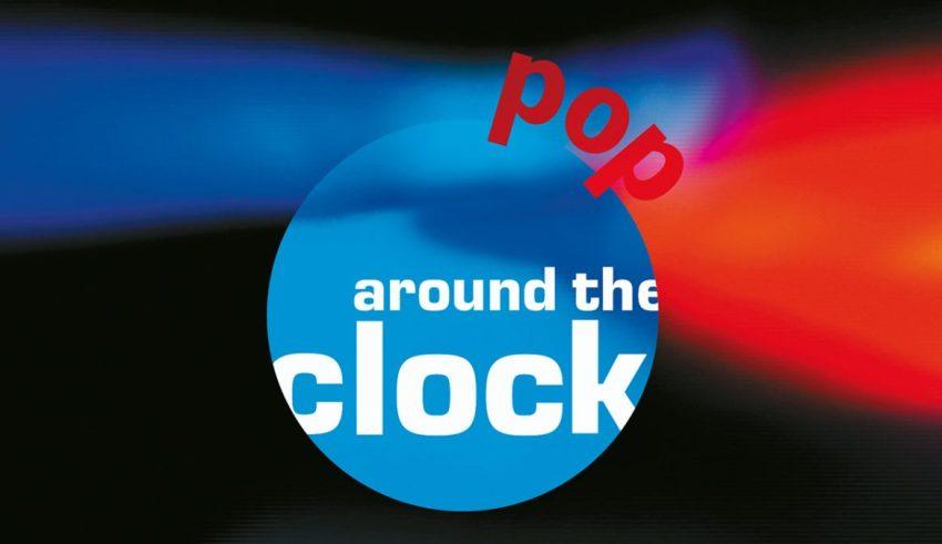 Pop around the Clock Logo