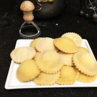 Taste of Italy: Pear and Pecorino Cheese Ravioli