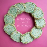 Pistachio Coconut Pinwheels