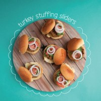 Turkey Stuffing Sliders