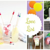 Love List 7/16/14: Crafts for Entertaining