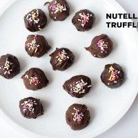 Nutella Cake Truffles