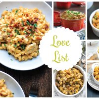Love List 1/20/16: Mac and Cheese