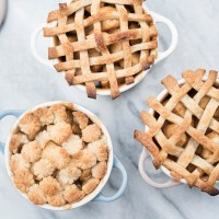 Individual Apple Pie Cocottes