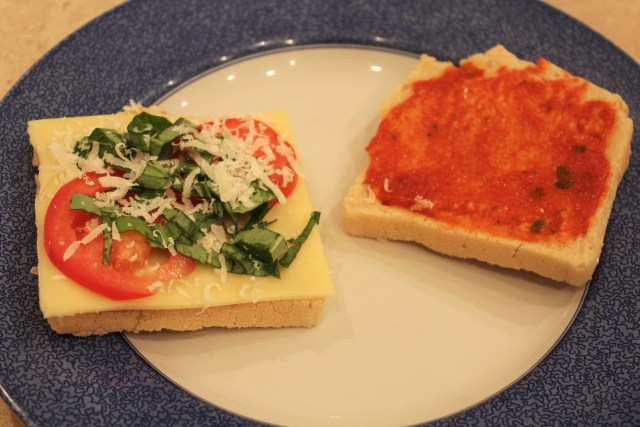 Gluten-Free Grilled Cheese Pizza Recipe