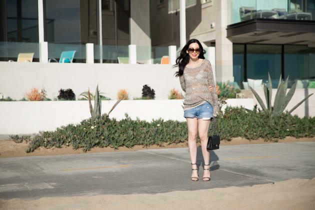 Rebecca Minkoff Gunmetal Sandals