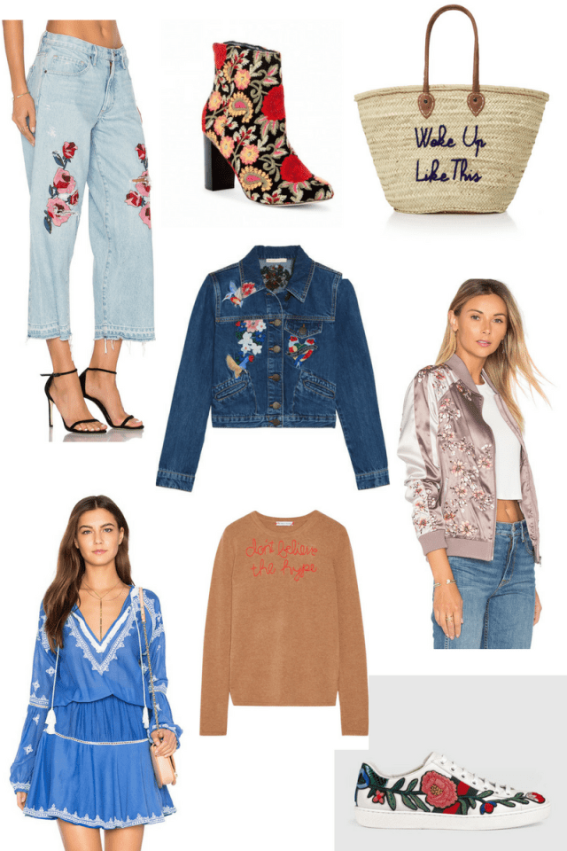 Embroidered Trend Edit