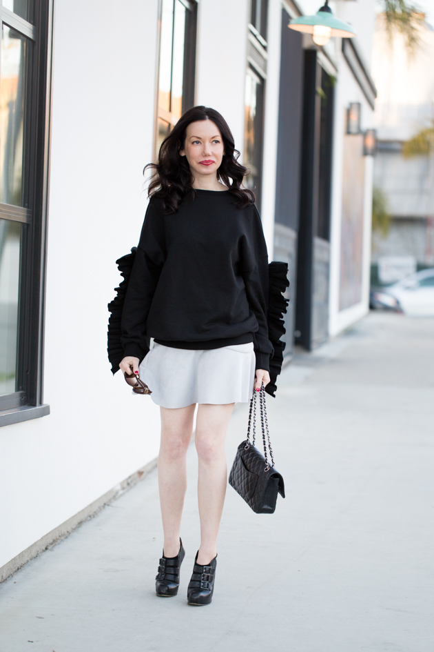 Storets Ruffled Sweater