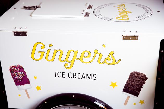 Ginger's Divine Ice Creams