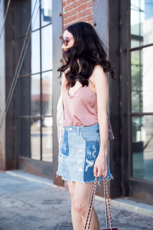 Tularosa Cami and Sunset & Spring Mini Skirt