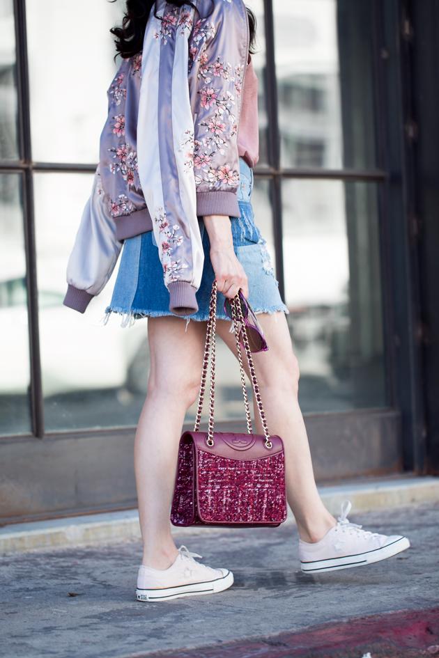Lovers & Friends Bomber Jacket - Pretty Little Shoppers Blog