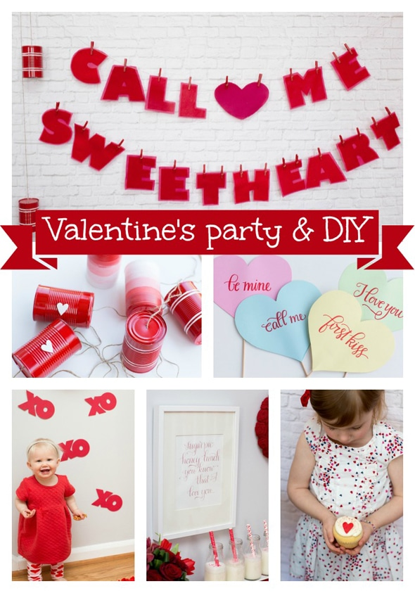 Valentines Day Sweetheart Photo Shoot
