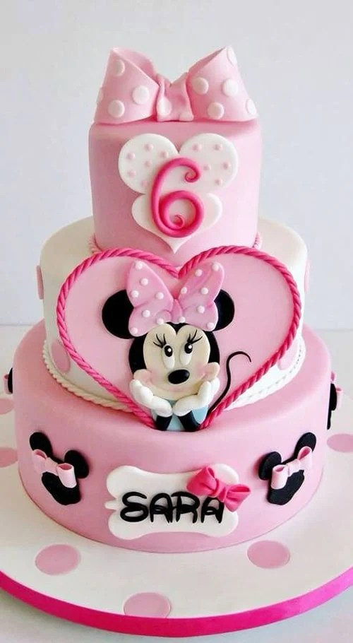 10 Cutest Minnie Mouse Cakes Everyone Will Love Pretty