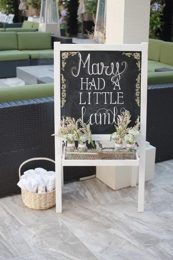 Favor S From A Little Lamb Baby Shower Via Kara 39 Party Ideas Karaspartyideas Com