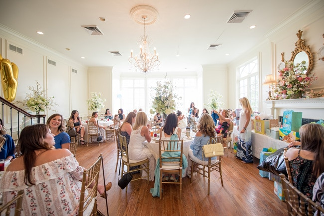 Small Baby Shower Venues