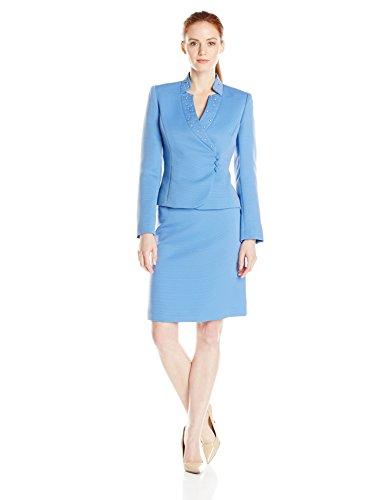 Tahari ASL Women's Petite Eason Skirt Suit