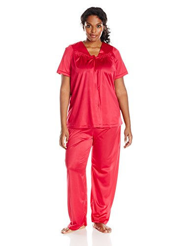 Vanity Fair Women's 90107 Sleepwear Colortura Short-Sleeve Pajama Set