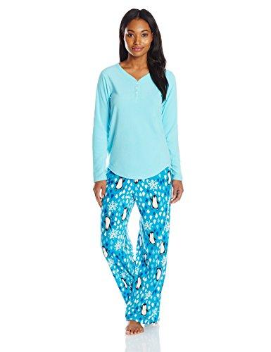 Hue Sleepwear Women's Microfleece Pajama Sets