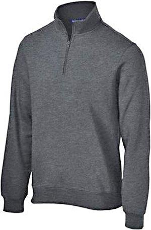 Sport-Tek Men's Colorfast 1/4-Zip Wiastband Sweatshirt