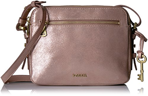 Fossil Piper Toaster Crossbody-Rose Gold
