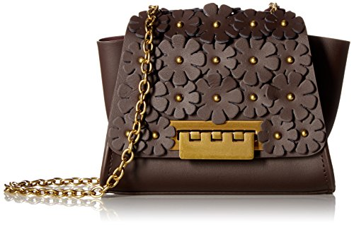 ZAC Zac Posen Eartha Mini Chain Crossbody-Brown