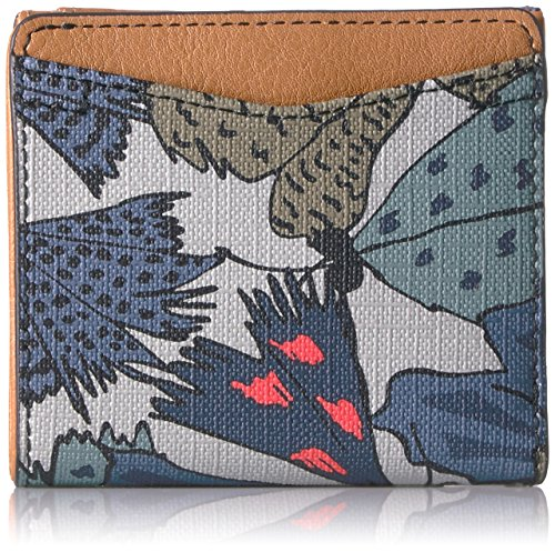 Fossil Caroline Rfid Mini Wallet Grey Multi Wallet