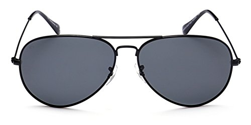 "PRIVÉ REVAUX ""The Commando"" Handcrafted Designer Polarized Aviator Sunglasses For Men & Women"