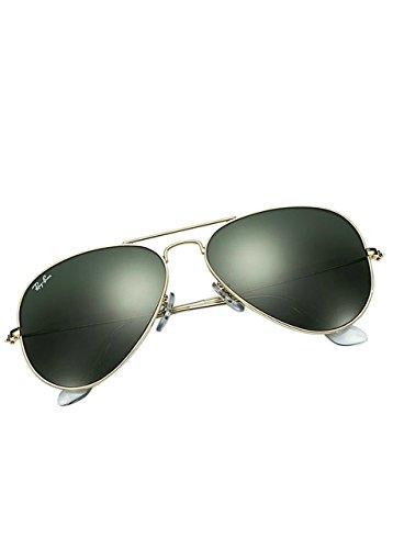 f65a4f025f0 Ray-Ban 3025 Aviator Large Metal Non-Mirrored Non-Polarized Sunglasses