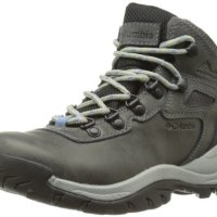 Columbia Women's Newton Ridge Plus Hiking Boot, Quarry/Cool Wave, 8 M US