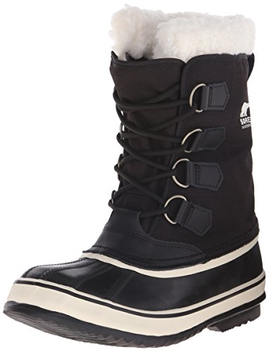 Sorel Women's Winter Carnival Boot,Black/Stone,8.5 M US