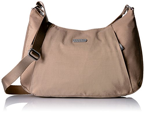 Baggallini Slim Crossbody Hobo, Beach