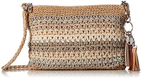 The Sak Casual Classics 3-in-1 Demi Shoulder Bag, Sand Stripe