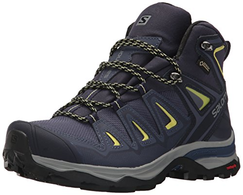 Salomon Women's X Ultra 3 Mid GTX W Hiking Boot,Crown Blue,9 M US