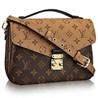 Pochette Metis Style Monogram Reverse 25 cm Canvas Crossbody Handbag Tote Bag Shoulder Bag by LAMB
