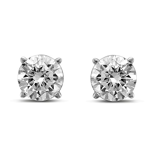Diamond Jewel IGI Certified 14K Round Diamond 1 Carat TW Stud Earrings Sale