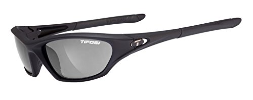 Tifosi Core 0200400170 Wrap Sunglasses,Matte Black Frame/Smoke Lens,One Size