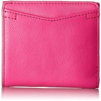 Fossil Women's Caroline RFID Mini Wallet, Hot Pink, One Size