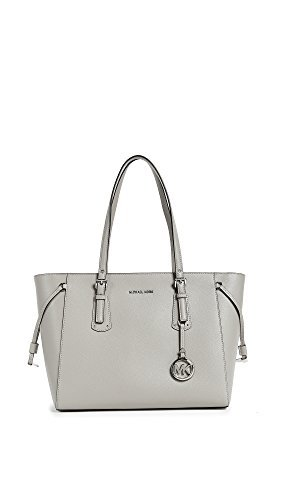 MICHAEL Michael Kors Women's Voyager Tote, Pearl Grey, One Size