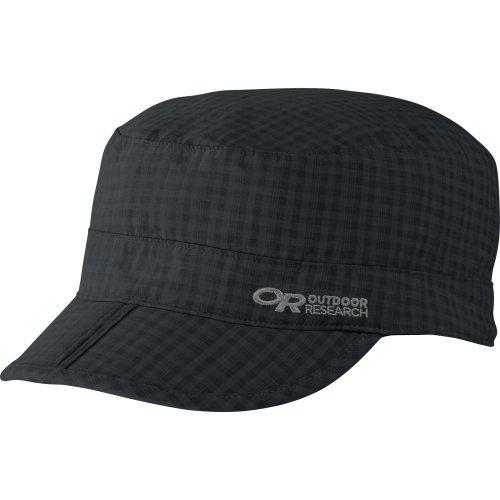 Outdoor Research Radar Pocket Cap, Black Check, Medium