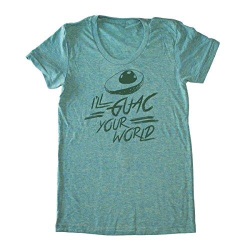Women's I'll Guac Your World T-Shirt – Funny Vegan Shirt