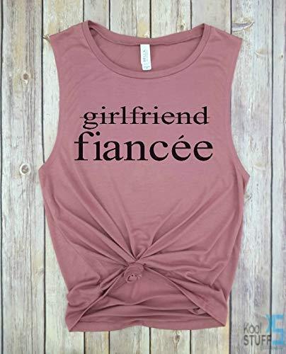 078b2554 Girlfriend Fiancee Tank, Future Mrs, I Said Yes, Engagement Tank, Engagement  Gift, Fiance Shirt, Bachelorette Party Shirt, Future Mrs, Bride Tshirt, ...
