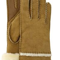 UGG Women's W Seamed Tech Glove, Chestnut, s