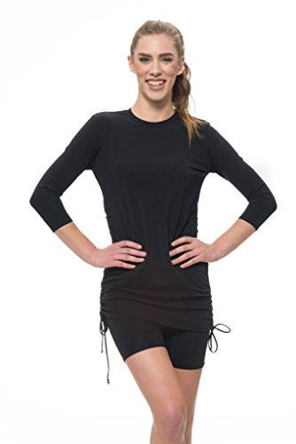 Women's Swim Shorts- Athletic Compression Shorts- UV Protection Cover Up– Plus Sizes Available