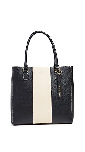 Frances Valentine Women's Chloe Tote, Black/Oyster, One Size
