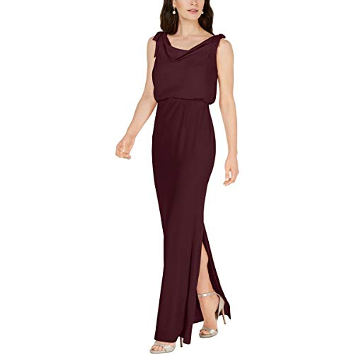 Adrianna Papell Womens Plus Sleeveless Formal Formal Dress Red 6