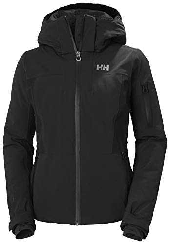 Helly-Hansen Womens Pinnacle Waterproof Jacket, 990 Black, X-Large