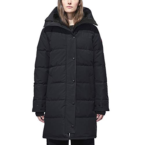 Canada Goose Women's Shelburne Parka Coat, Non-Fur (X-Small, Navy)